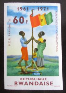Rwanda 1972 Nezávisl. ,vzácné Mi# 499 B 10.6€ 0663