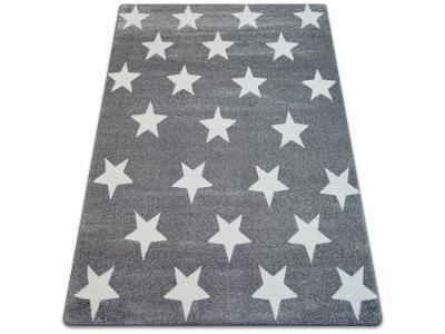 KOBEREC SKETCH 180x270 cm STARS šedý #GR2172