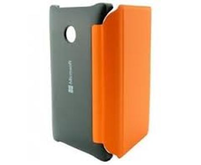 Nokia zadní kryt s flipem CP-634 pro Lumia 532, zářivě oranžová