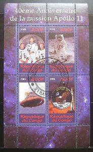 Kongo 2009 Mise Apollo 11 Mi# 0701