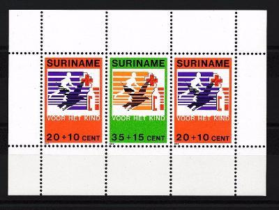 Surinam 1979 Červený kříž Mi# Block 23 0724