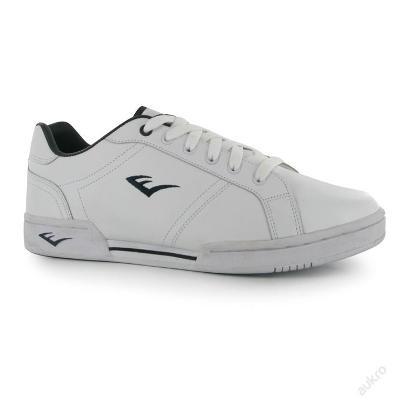 Bílé kožené boty EVERLAST, tkaničky, UK 8 (EU 42)