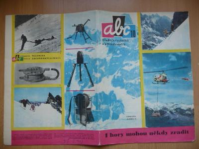 Časopis - ABC - ročník 14. - číslo 10. z roku 1970