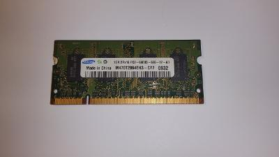 Pamět do NB 1GB DDR2 SO-DIMM 800 Mhz Samsung