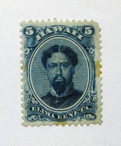 Havaj 1866 Král Kamehameha Mi# 17 Kat 220€ 0921