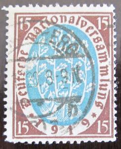 Německo 1919 Národní shromáždění Mi# 108 0922