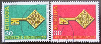 Německo 1968 Evropa CEPT Mi# 559-60 0900