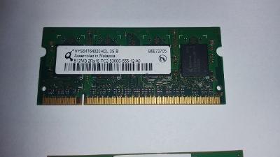 Pamět do NB Infineon 512MB DDR2 SO-DIMM 667Mhz