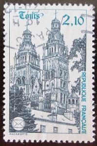Francie 1985 Katedrála v Tours Mi# 2501 0941