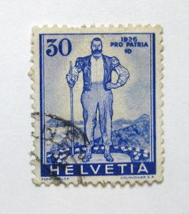 Švýcarsko 1936 Pastevec Mi# 296 Kat 26€ 0960