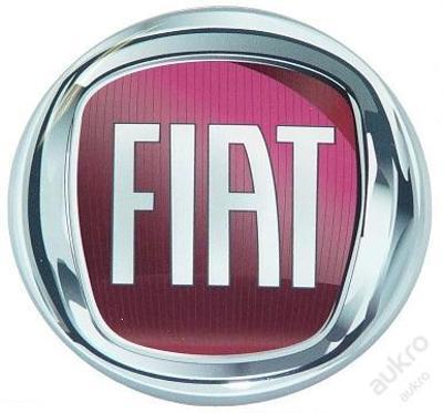 Samolepky loga 3D design - FIAT , 120mm