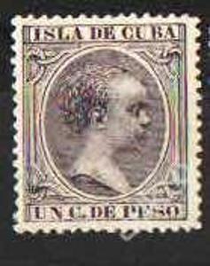 Španělsko - Kuba - č.92 - Král Alfonso XIII