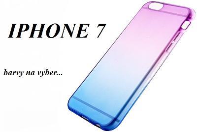 Průhledný kryt obal __ IPHONE 7 __ silikon __ x945