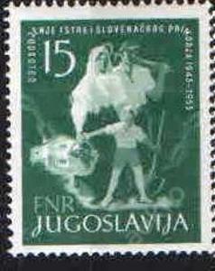 Jugoslávie - č.778 - 10.výročí osvobozeni Istrie