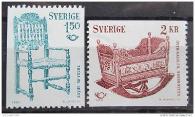 Švédsko 1980 NORDEN spolupráce Mi# 1115-16 0981