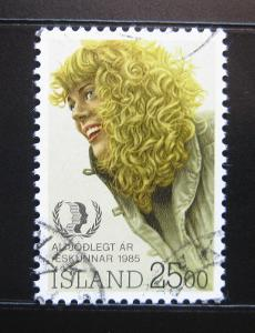 Island 1985 Islandská dívka Mi# 635 0985A
