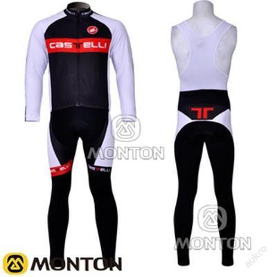 zimní komplet cyklo dres Castelli - vel.???