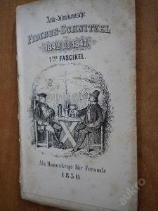Fidibus - Schnitzel 1842-1847 1. - 1850