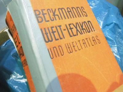 Beckmanns Welt-Lexikon 1932 Weltatlas/2000str.mapy