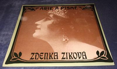 LP Zdenka Ziková - Árie a písně