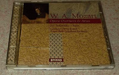 CD W. A. Mozart - Opera Overtures & Arias