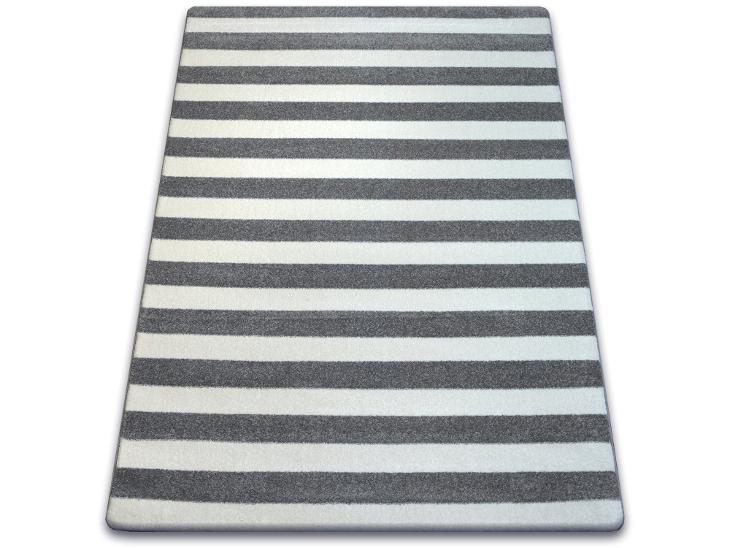 KOBEREC SKETCH 180x270 cm pásy MONO šedý #GR2168 - Zařízení