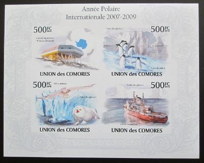 Komory 2009 Mezin. polární rok Mi# 2727-30 B 1286