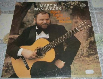 LP - Martin Mysliveček - Bach Sanz...