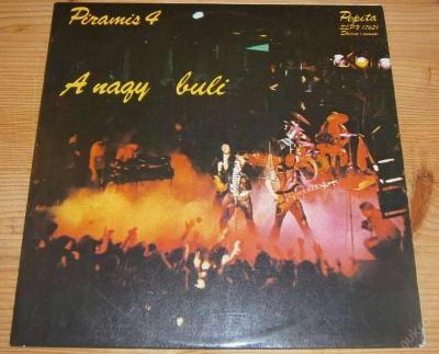 LP - Piramis - 4 - A Nagy Buli / Pepita 1979