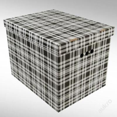 Dekorativní krabice mřížka XL _ velký box _ (3035)