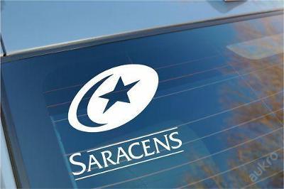 Saracens - autonálepka na sklo aj. samolepka