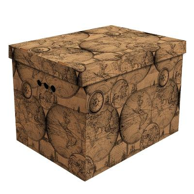 Dekorativní krabice staré mapy XL __ box __ (XL022