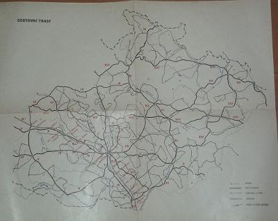 Cestovní trasy - Morava