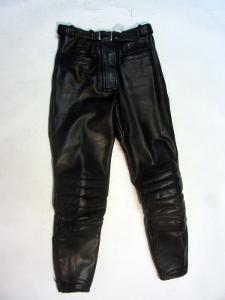 Kožené kalhoty Gericke vel. 34 - pas: 68 cm
