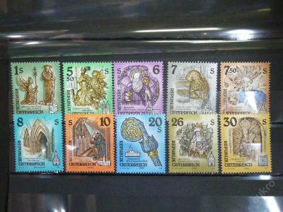 Rakousko kompl. výplatní známky ** 1993 - 1995