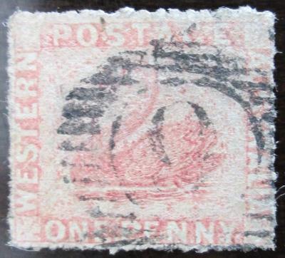 Západní Austrálie 1861 Labuť Mi# 9 C Kat 60€ 1004