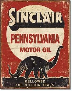 Retro reklamní cedule-Sinclair - Million Years