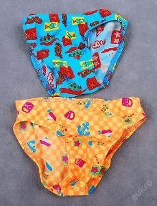 Plavky dětské - 2 kusy , vel. 68 /74 - (PL049)