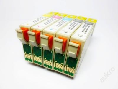 Kompatibilní náplně T0711-4 pro Epson, sada 5 kusů