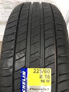 nové 2ks 225.60.16 Michelin Primacy 3 98W