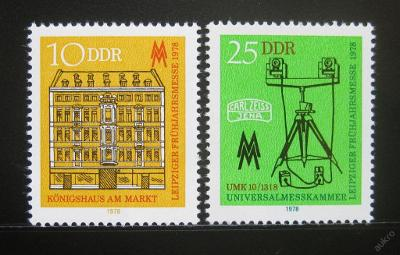 DDR 1978 Veletrh v Lipsku SC# 1896-97 0236
