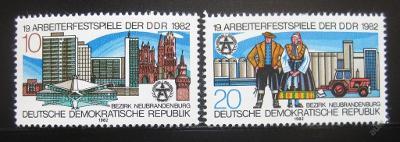 DDR 1982 Dělnický festival SC# 2269-70 0238