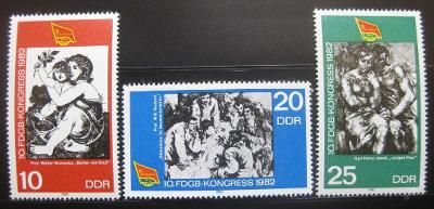 DDR 1982 Odborová organizace SC# 2260-62 0238
