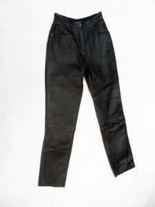 Kožené dámské kalhoty POLO vel. 34 - pas: 61 cm