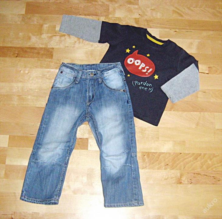 CHLAPECKÝ SET vel. 104 - Oblečení