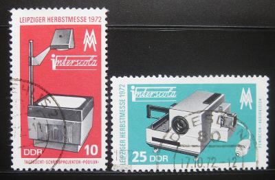 NDR 1972 Lipský veletrh Mi# 1782-83 0525