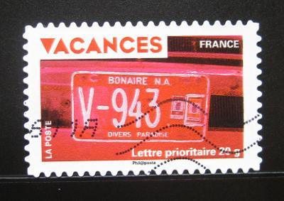 Francie 2009 Pozdrav z dovolené Mi# 4672 0531