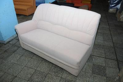 Sofa nerozkládací,mikroplyš 160cm,2. jakost (1363)