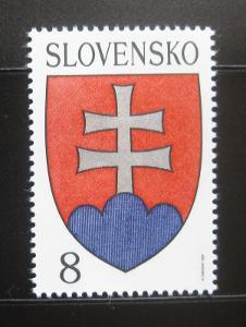 Slovensko 1993 Státní znak Mi# 162 Kat 5€ 0533