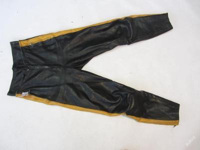 Kožené kalhoty HARRO - obvod pasu: 70cm- 6153